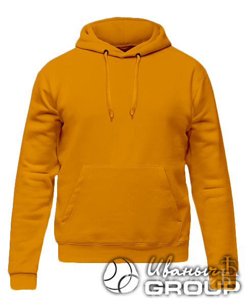 Оранжевое худи на заказ