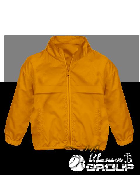 Оранжевая ветровка
