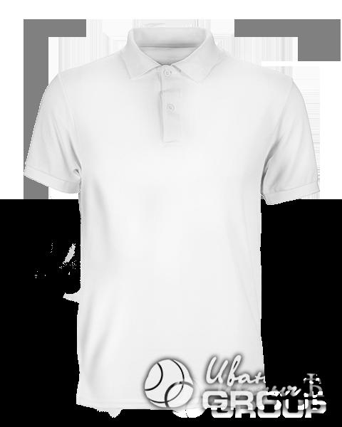 Белое поло на заказ