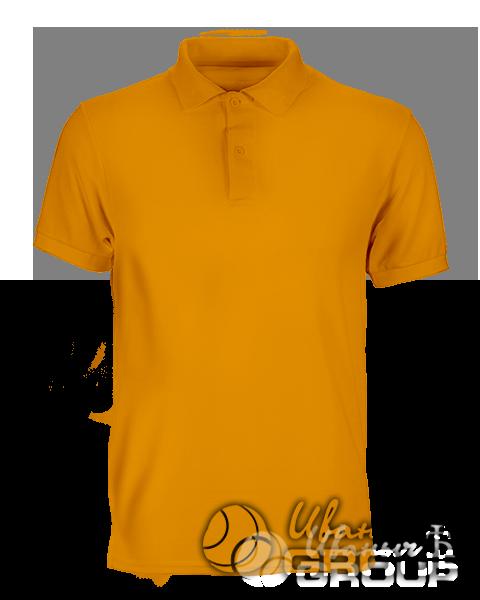 Оранжевое поло