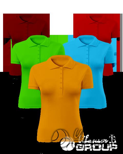Рубашки-поло женские оптом