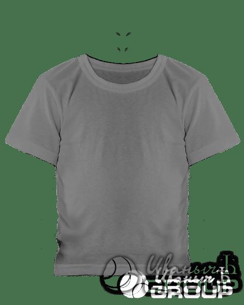 Серая детская футболка