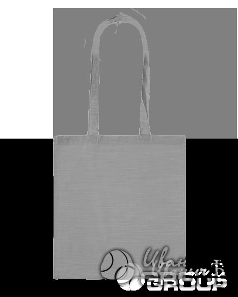 Серый-меланж сумка холщовая