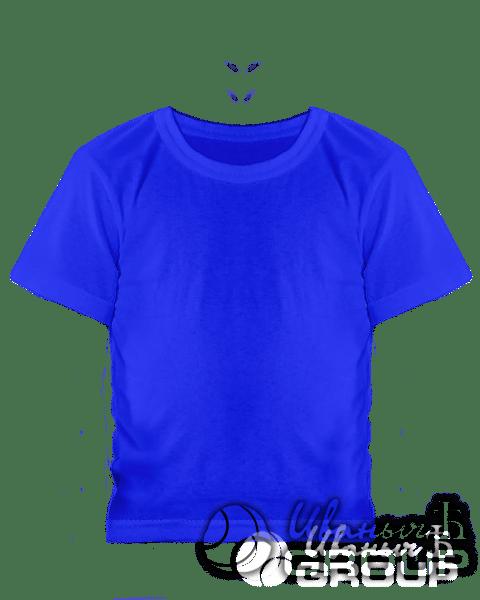 Синяя детская футболка