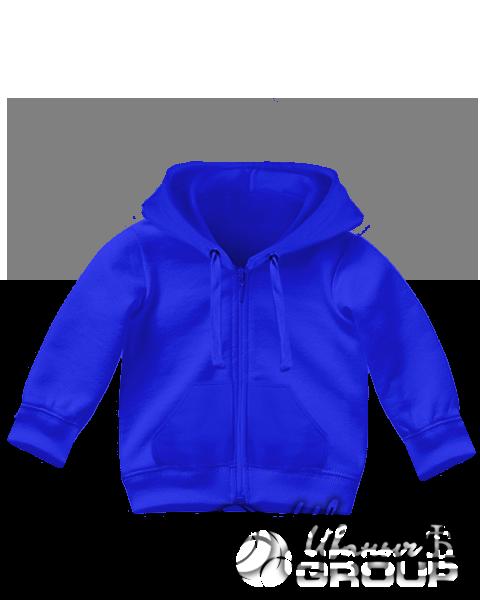 Синяя толстовка детская