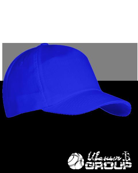 Синяя бейсболка на липучке