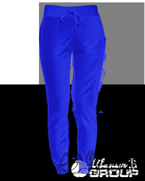 Синие штаны женские