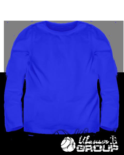 Синий лонгслив детский
