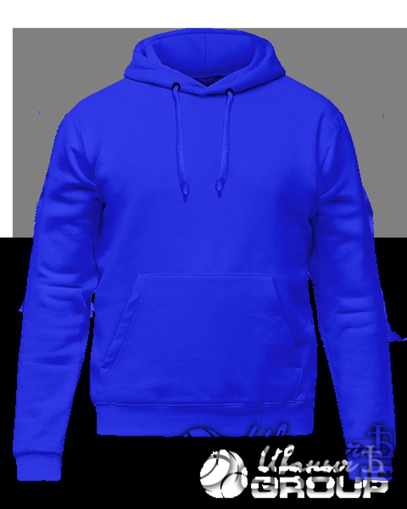 Синее худи на заказ