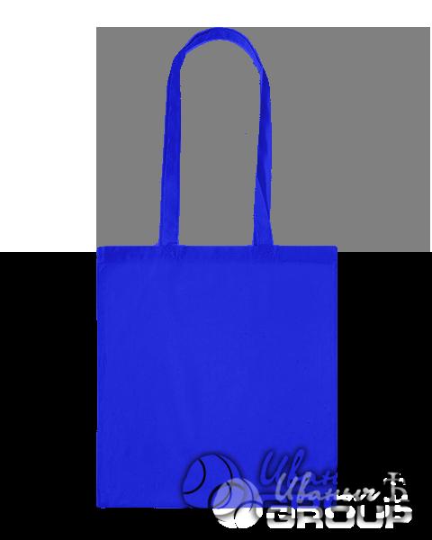 Синяя сумка бязь