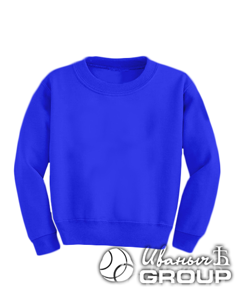 Синий свитшот детский