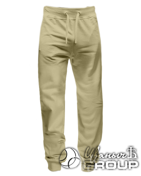 Бежевые штаны зауженные