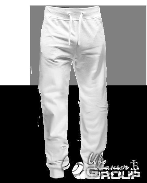 Белые штаны зауженные