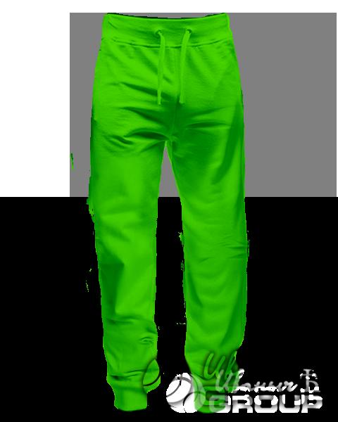 Спортивные штаны прямого кроя