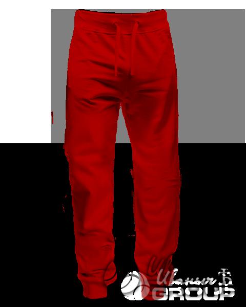Красные штаны зауженные