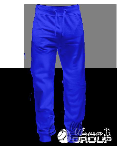 Синие штаны зауженные