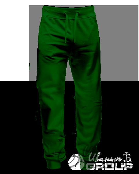 Темно-зеленые штаны мужские