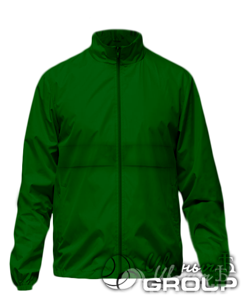 Темно-зеленая ветровка промо