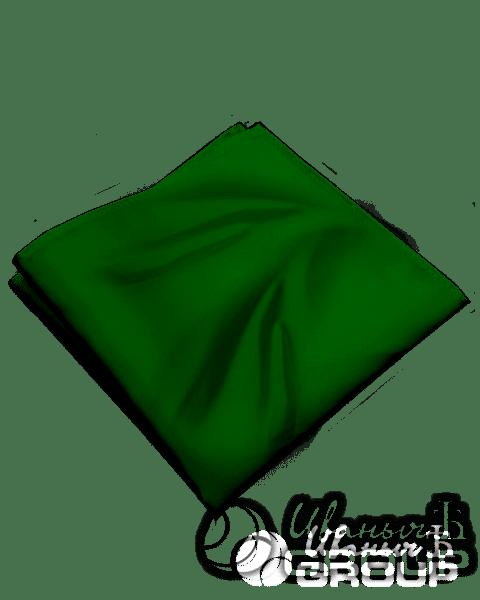 Темно-зеленая бандана