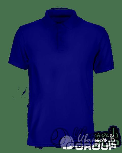 Темно-синее поло мужское