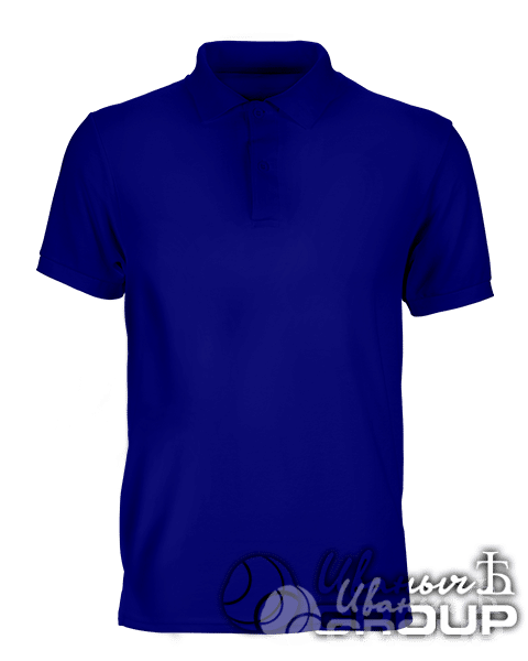 Темно-синее поло промо