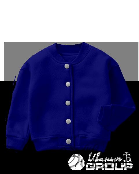 Темно-синий бомбер детский