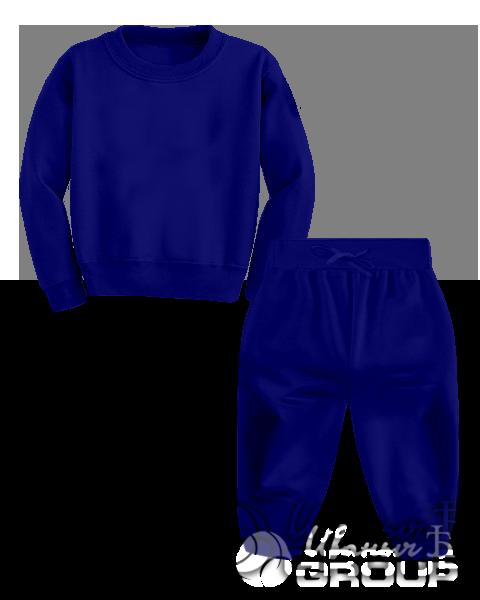 Темно-синий костюм детский