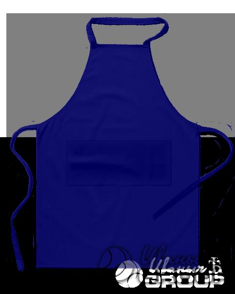 Темно-синий фартук