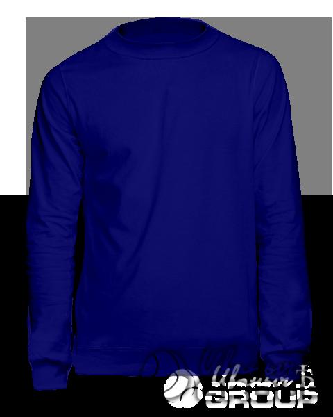 Темно-синий свитшот на заказ