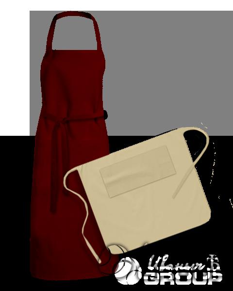Фартуки и передники для официантов