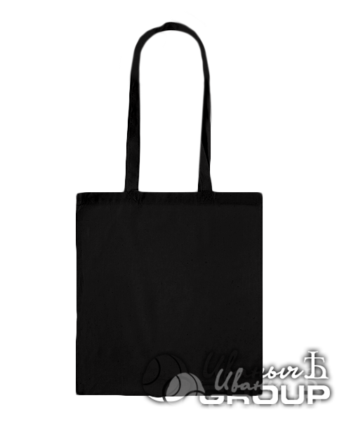 Черная сумка холщовая