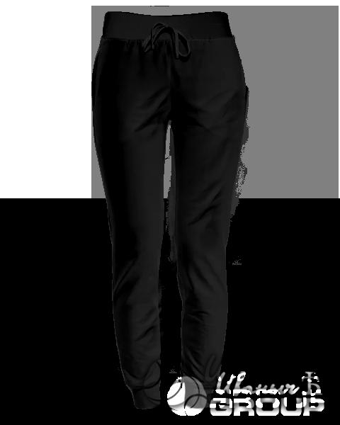 Черные штаны женские