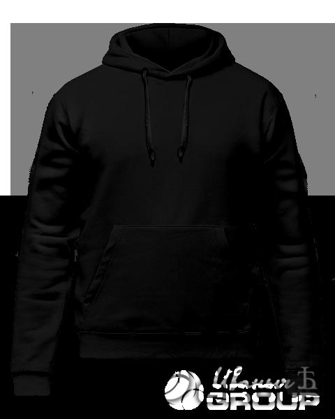 Черное худи