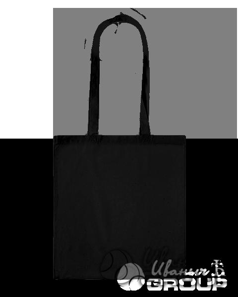 Черная сумка холщевая