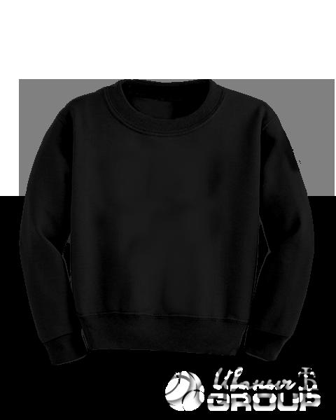 Черный свитшот детский