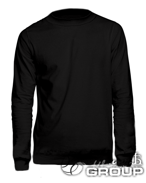 Черный свитшот стандарт