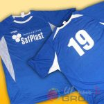 футболки с номерами и логотипами для футбола