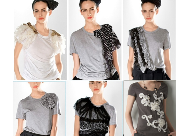 6 идей превращения старой футболки в стильные вещи