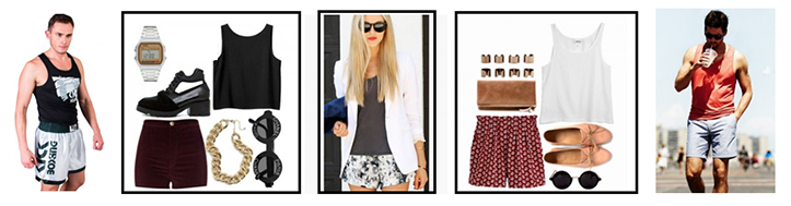 Майка – это один из самых популярных элементов современного модного лука