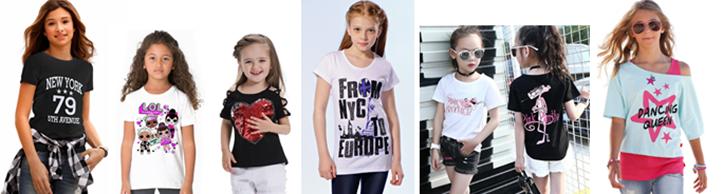 Фото модных футболок для девочек 10-14 лет