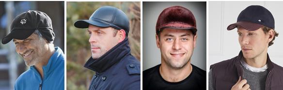 Фото модных мужских кепок 2019 из флиса, кожи, меха и комбинированных материалов