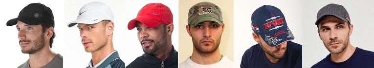 Фото модных мужских бейсболок разных цветов