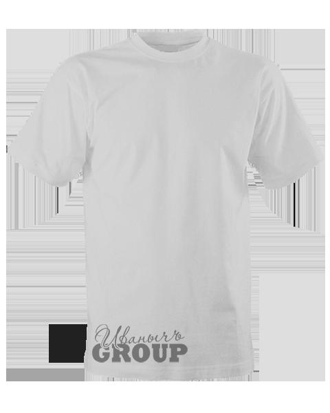Серо-меланжевая футболка