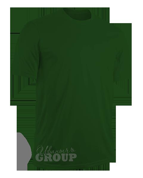 Темно-зеленая футболка