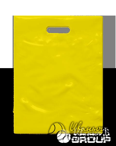 Желтый пакет ПСД