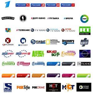 печать лого телеканала телекомпании