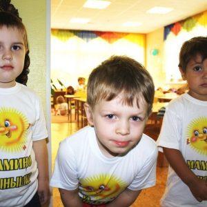 купить детскую футболку