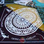 печать на платках банданах ткани