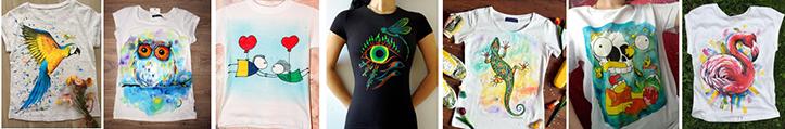 Фото изображений, которые можно нарисовать на молодежных футболках