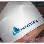 бандана с логотипами компании